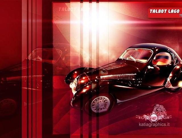 car auto 1937 talbot lago photomanipulation art artist artistic artistshellip